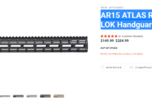 Aero Precision: AR15 ATLAS R-ONE M-LOK Handguard Review