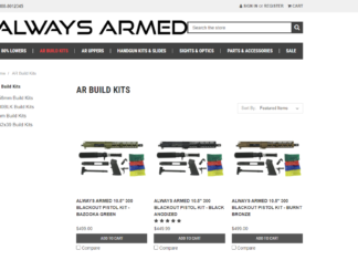 Always Armed: 80% Lower Build Kit Review