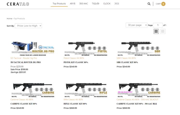 Cera Tactical FDE 80% Rifle Kit