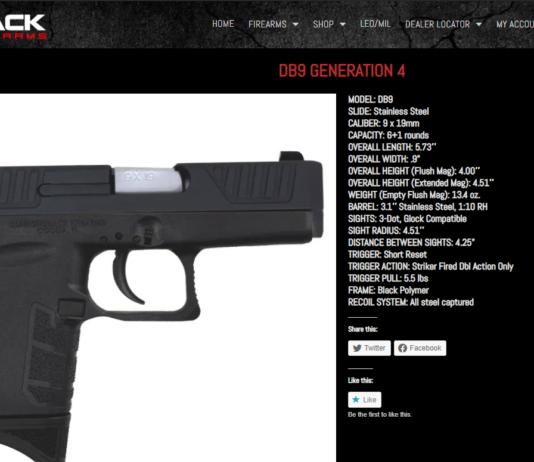Diamondback Firearms: DB9 GENERATION 4 Review