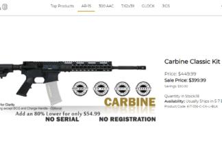 Carbine Classic Kit 80%